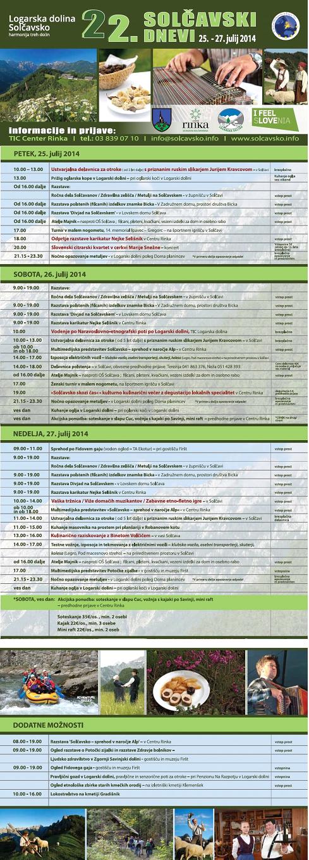 program solčavski 2015